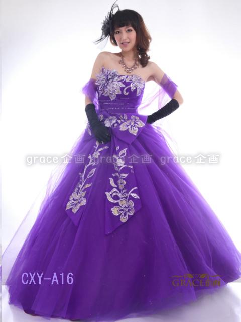 カラードレス プリンセスライン