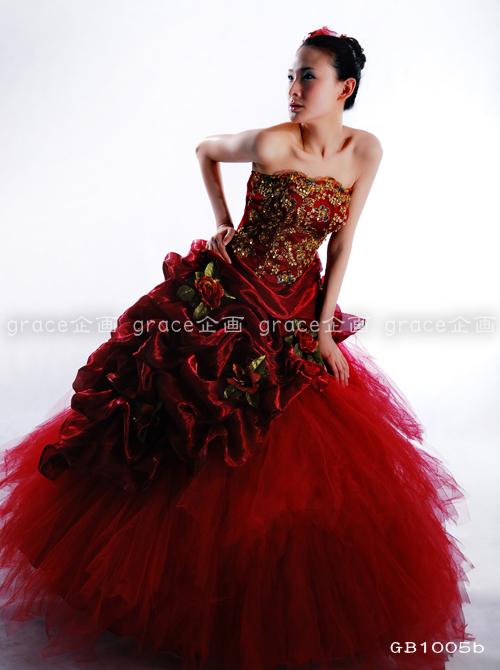 dfb2e9b51 فستان أحمر روبي روعة - smsm